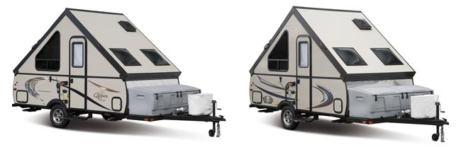 2015 Clipper and Viking a-frame side-by-side
