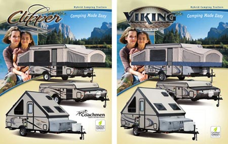 Clipper and Viking brochure similarity