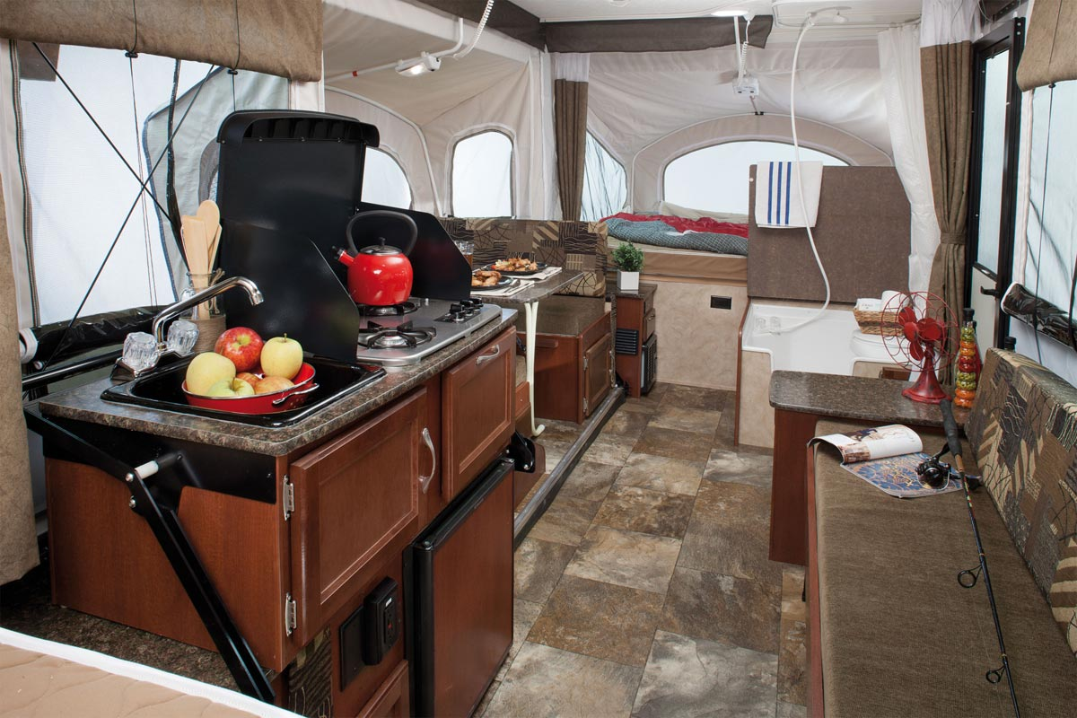 2015 Clipper and Viking interior. Coachmen's ...