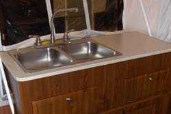 Double-sink galley upgrade