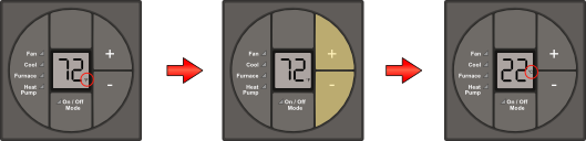 Dometic digital thermostat fahrenheit to celsius