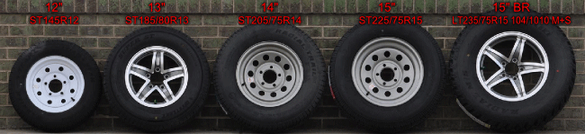 Flagstaff tire size designation