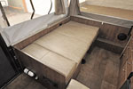 2016 Flagstaff 207SE dinette bed