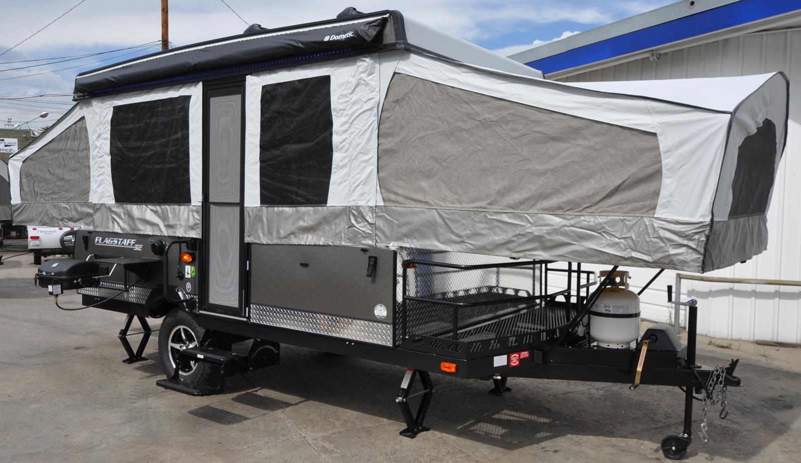 Tire Size Comparison >> Flagstaff 228BHSE Camping Trailer | Roberts Sales - Denver ...