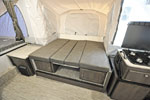 2021 Flagstaff 228D with shower dinette as a bed