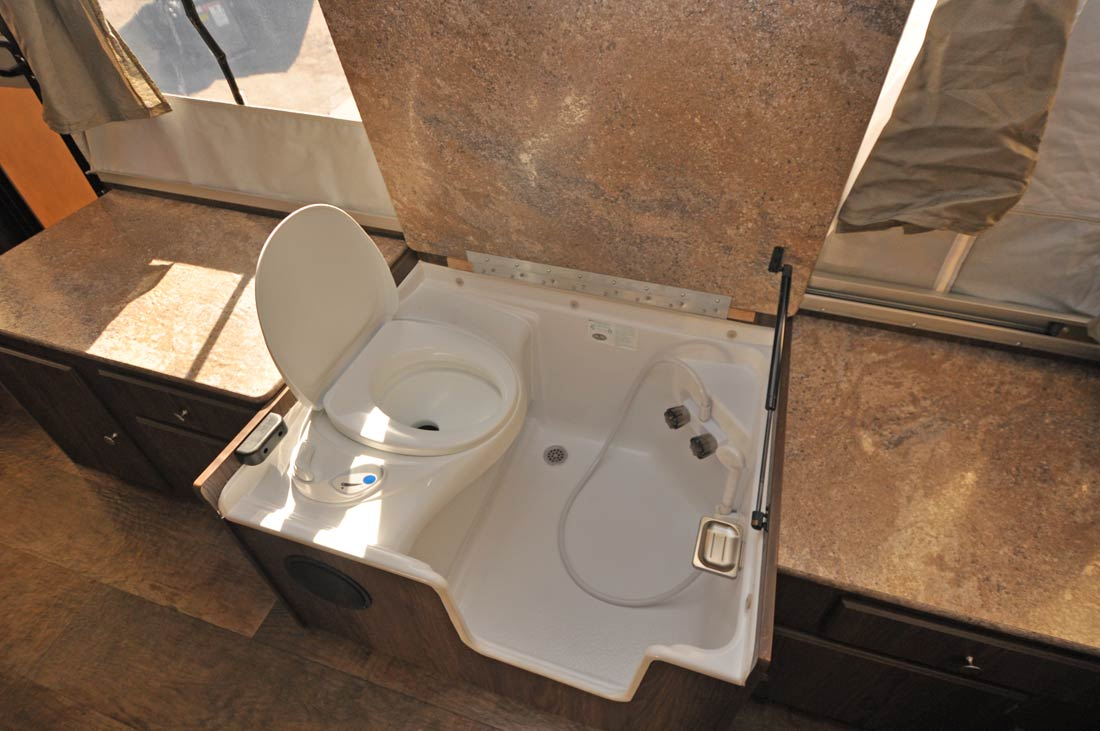 Thetford Shower Toilet Combo