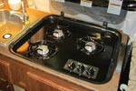 Flagstaff Classic series stove top