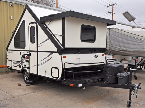 2017 Flagstaff T12BH exterior with dormer