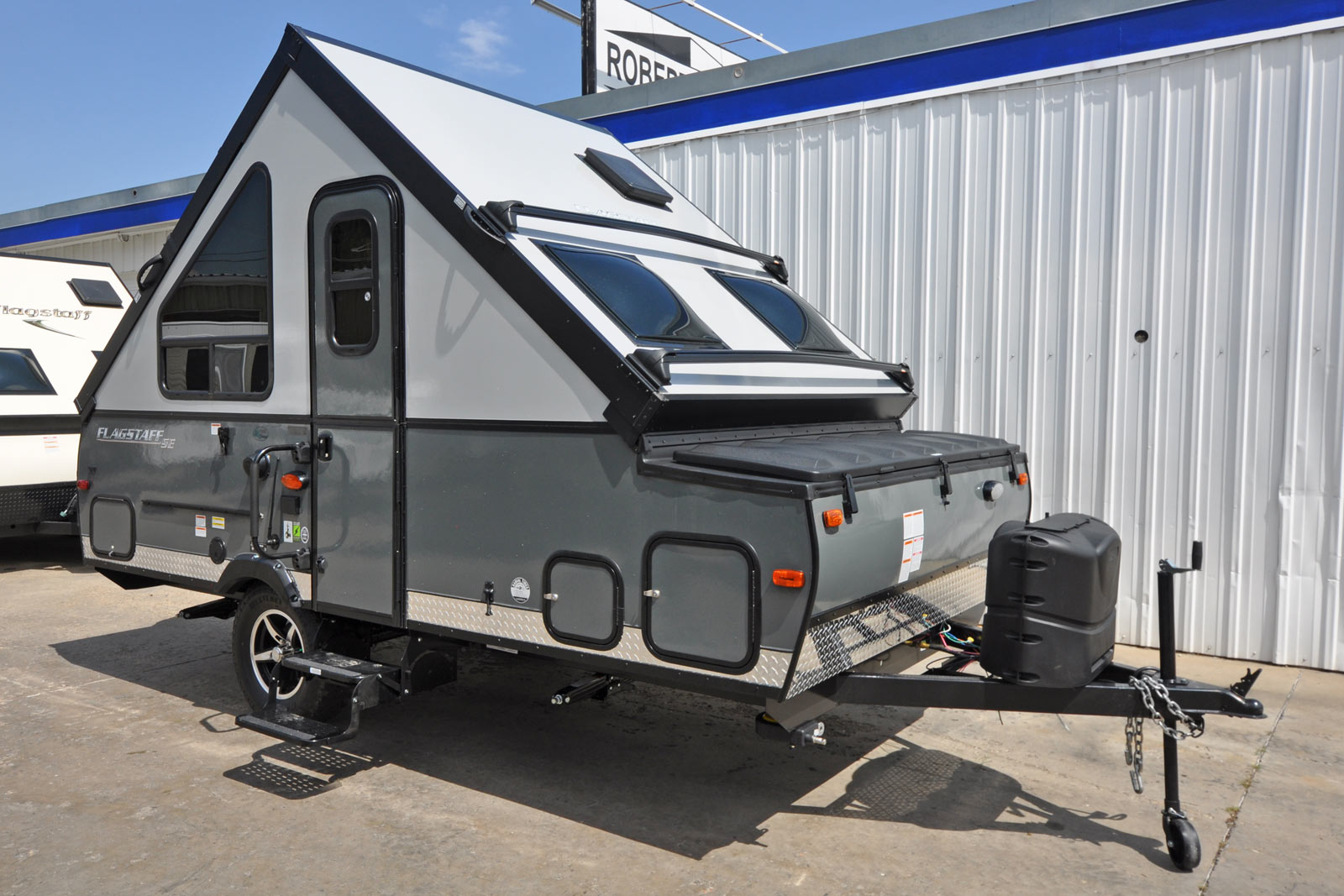 Flagstaff T12rbsse Camping Trailer Roberts Sales