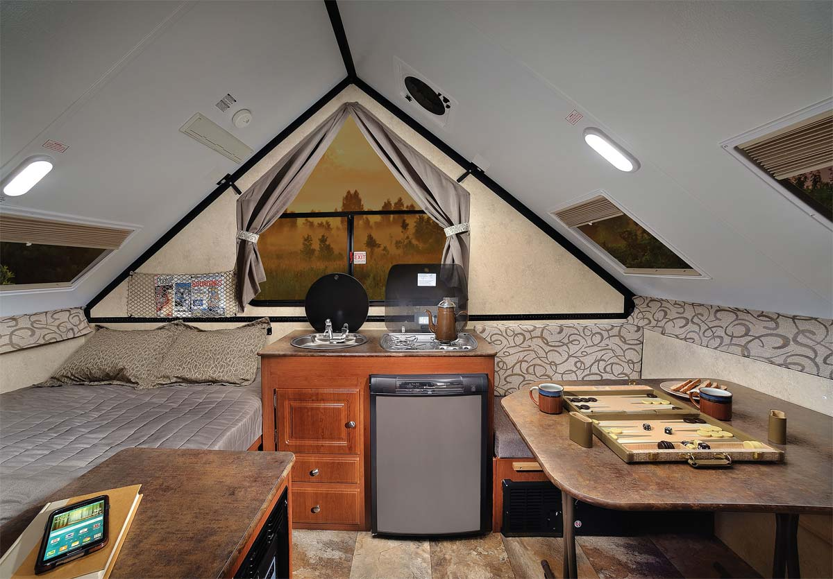 Amazing Aliner Aframe Pop Up Camper
