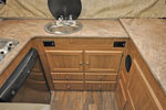 2017 Flagstaff T21FKHW galley cabinets