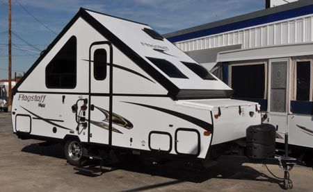 2015 Flagstaff T21QBHW exterior view