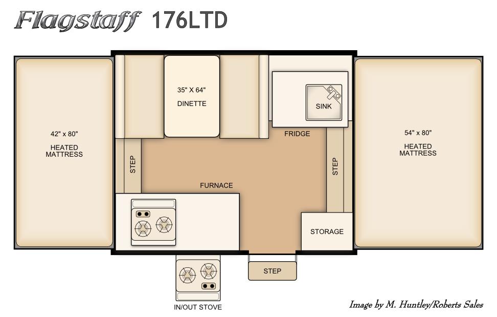 All Flagstaff Fold-Down Models | Roberts Sales