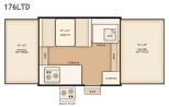 Flagstaff 176LTD floorplan thumbnail
