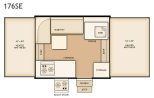 Flagstaff 176SE floorplan