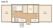Flagstaff 206LTD floorplan thumbnail