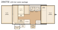 Flagstaff 206STSE floorplan
