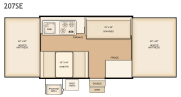 Flagstaff 207SE floorplan