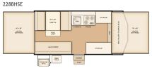 Flagstaff 228BHSE floorplan