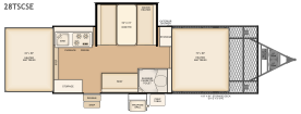 Flagstaff 28TSCSE floorplan
