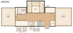 Flagstaff HW27KS floorplan thumb
