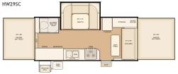 Flagstaff HW29SC floorplan thumb