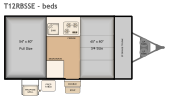 Bed Layout for this model