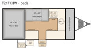T21FKHW bed layout
