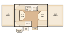 Flagstaff 208 floorplan