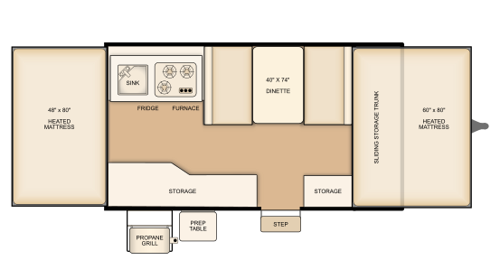 Flagstaff 206M floorplan
