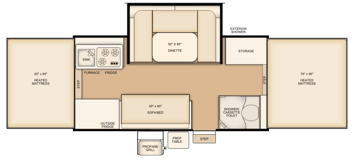 Flagstaff 627D floorplan