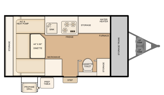 T12TST Floorplan