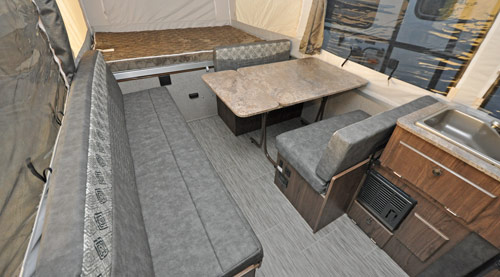 2019 Flagstaff LTD and MAC interior color scheme