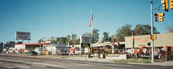 Roberts Sales and Southwest Rentals in 1994