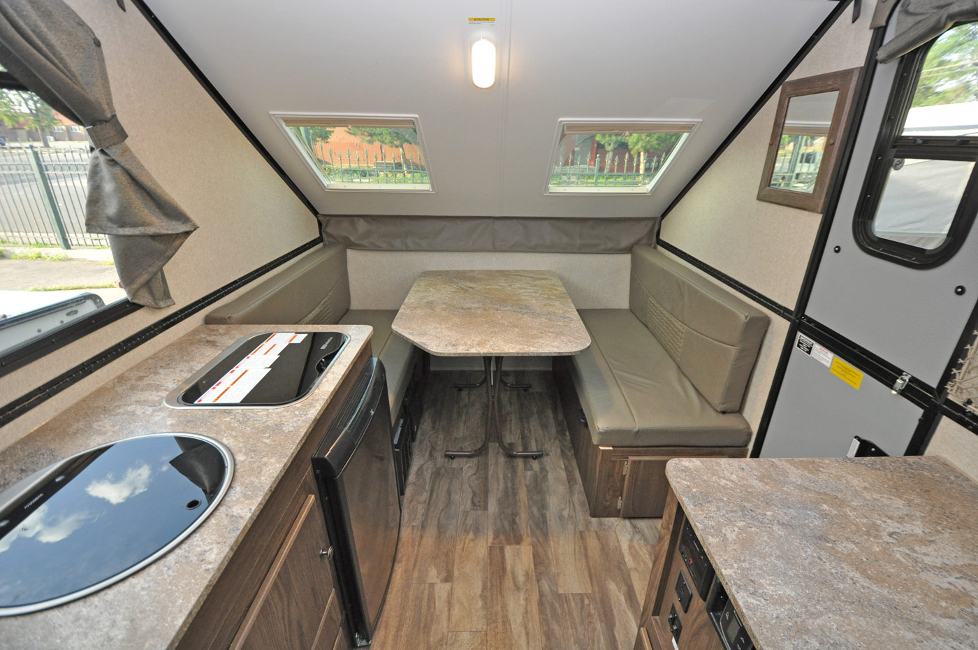 New Campers In Stock Roberts Sales Denver Colorado Likewise Rv Travel Trailer Water Plumbing Diagram Together With 30 Hot Package Exterior Shower Standard Flagstaff T21tbhwse Floorplan 21185
