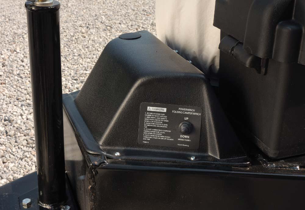 Flagstaff Pop Up Camper Lift System
