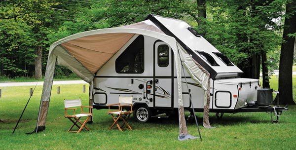 T-series/A-frame awning/screen-room combo