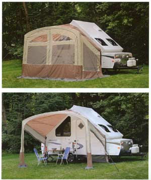T Series awning/screen-room