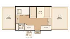 Rental 206LT Floorplan