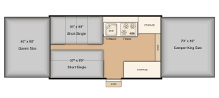 228 bed layout