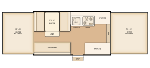 Rental Flagstaff 228 floorplan