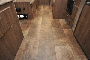 Flagstaff Sports Enthusiast wood-look flooring